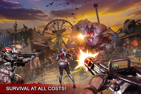 Dead Warfare Zombie MOD APK 2021 [Unlimited Ammo/Money/Health] 4
