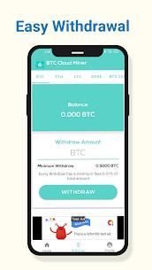 BTC Cloud Miner Pro Apk – Free Mobile Bitcoin Mining Pro APK ** 2021 NEW 5