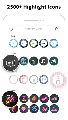 Highlight Cover & Logo Maker for Instagram Story android2mod screenshots 2