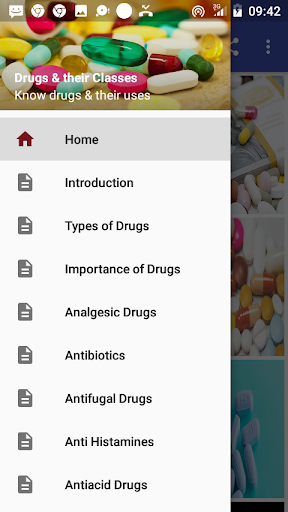 Drugs & their Classes  screenshots 1
