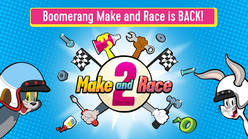 Boomerang Make and Race 2 - Cartoon Racing Game  screenshots 1