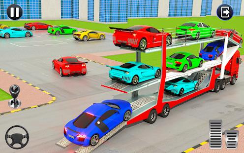 Crazy Car Transport Truck:New Offroad Driving Game 1.32 Screenshots 5