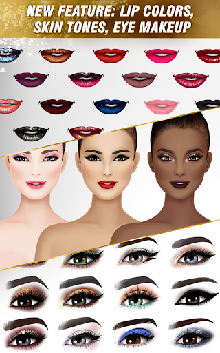 International Fashion Stylist - Dress Up Studio 4.6 screenshots 13