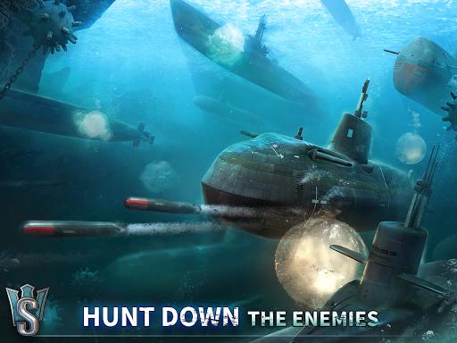 WORLD of SUBMARINES: Navy Warships Battle Wargame Apkfinish screenshots 15