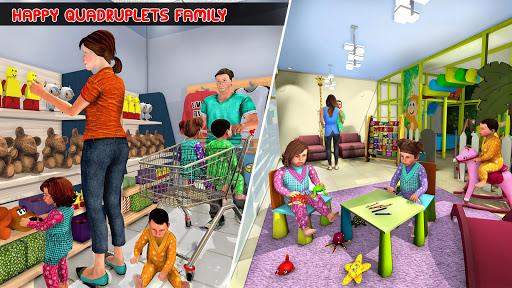 Virtual Mother Baby Quadruplets Family Simulator 1.1.1 apktcs 1