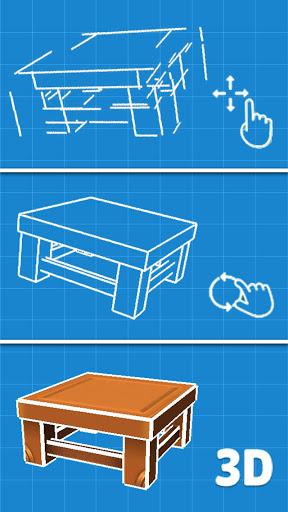 3d puzzle screenshot 1