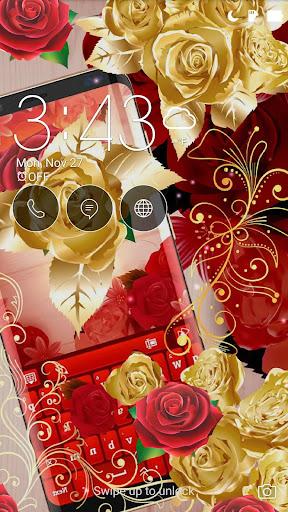 Red Rose Keyboard 2021  screenshots 3