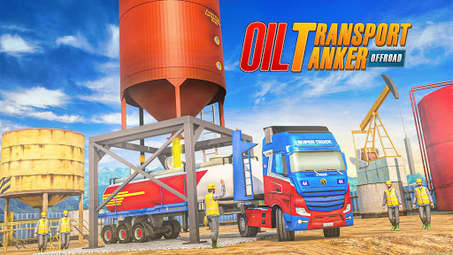 Offroad Oil Tanker Truck Simulator: Driving Games  screenshots 17