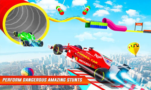 Formula Car Stunts: Impossible Tracks Racing Game  Paidproapk.com 2
