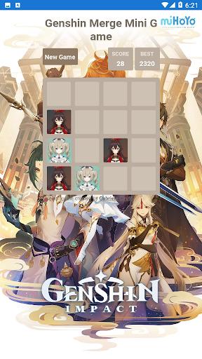 Code Triche Genshin Merge - Mini Game (Astuce) APK MOD screenshots 3