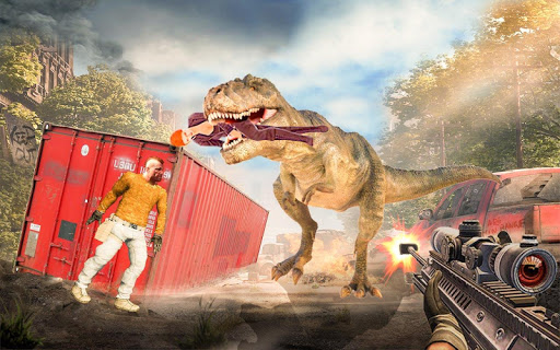 Best Dinosaur Shooting Games: Dino Hunt Shelter  screenshots 7