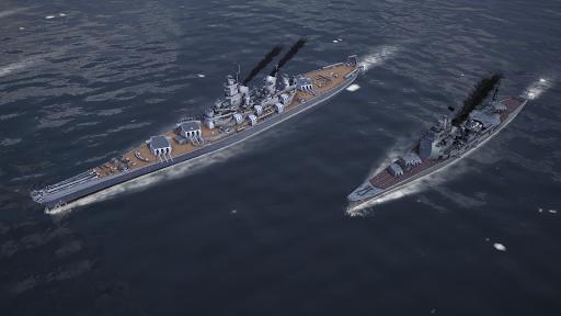 Warship Fleet Command : WW2 Naval War Game  screenshots 8