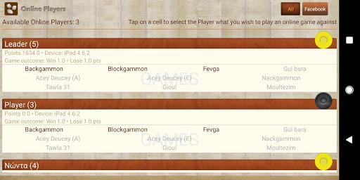 iTavli-All Backgammon games 5.2 screenshots 5