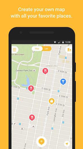 Mapstr android2mod screenshots 1