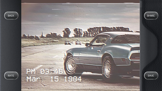1984 Cam – VHS Camcorder, Retro Camera Effects Screenshot