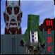 Mod Attack On Titan Addon Skin for Minecraft PE