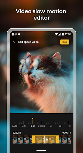 Slow motion - Speed up video - Speed motion 1.0.51 Screenshots 7