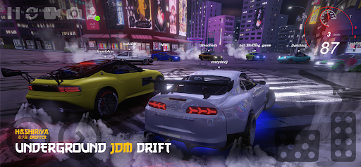 Hashiriya Drifter Online Drift Racing Multiplayer 2.1.20 screenshots 1