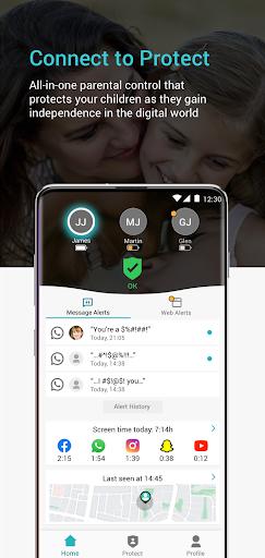 Keepers - Parental Control & Location Tracker App  Screenshots 4