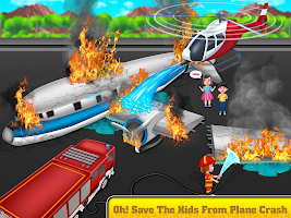 Kids Firefighter: Fire Rescue And Car Wash Garage