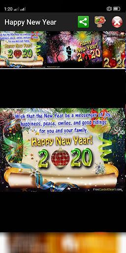 Happy New Year Greetings 2021  Screenshots 20