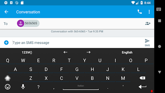 Italian for AnySoftKeyboard 4.0.1396 Mod + APK + Data [UPDATED] 2