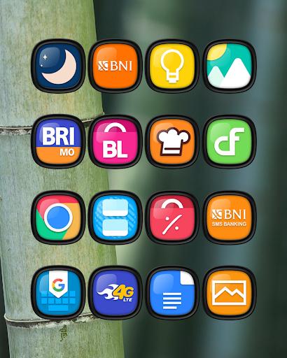 Download APK: Minka Dark Squircle – Icon Pack v1.1 [Mod] [Sap]