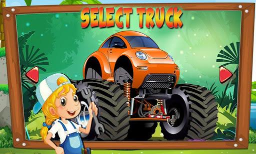 monster truck repair mechanic shop screenshot 3