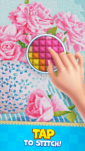 CROSS-STITCH: COLORING BOOK modavailable screenshots 1