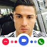 Simulation Video Call Ronaldo app apk icon
