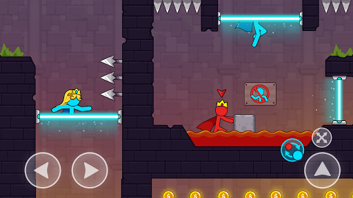 Red And Blue Stickman android2mod screenshots 2