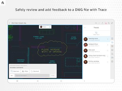 AutoCAD - DWG Viewer & Editor screenshots 12