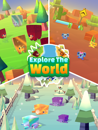 Spin a Zoo - Tap, Click, Idle Animal Rescue Game!  screenshots 10