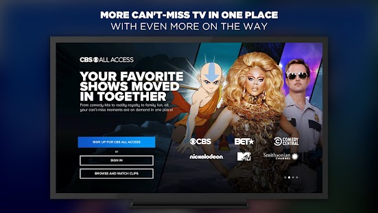 CBS All Access Screenshot