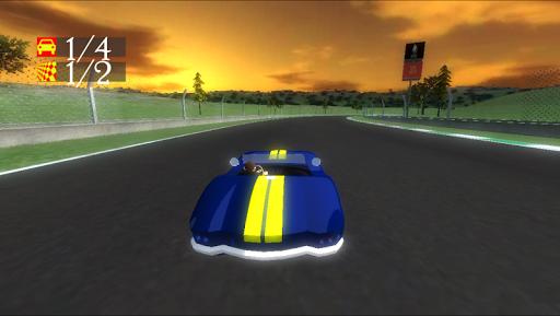 racing game 3d screenshot 2