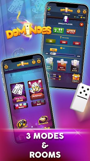 Dominoes - Offline Free Dominos Game 1.12 screenshots 1