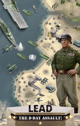 1944 Burning Bridges - a WW2 Strategy War Game  screenshots 1