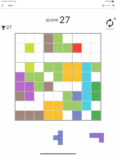 Blockdoku - Combination of Sudoku and Block Puzzle screenshots 9