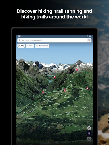 FATMAP: Hike, Bike, Ski Trails - 3D Outdoor Maps apktram screenshots 9
