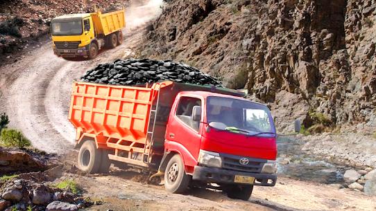 Offroad Logging Cargo Truck Semi Trailer : Uphill 1.0 Unlocked APK Mod Free 1