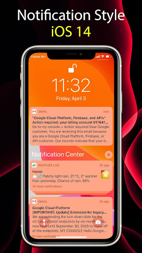 Launcher iOS 14  Screenshots 4
