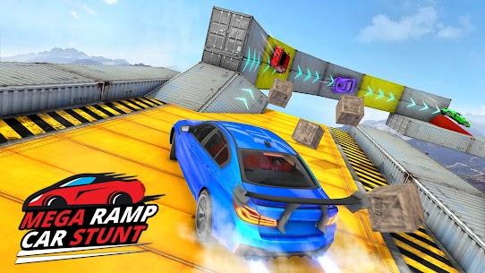 Ramp Car Stunts 2021 – Mega Ramps Car Stunt Races 8