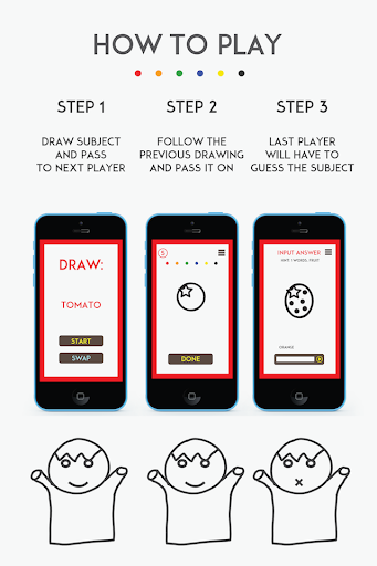 who can't draw - party game! screenshot 2