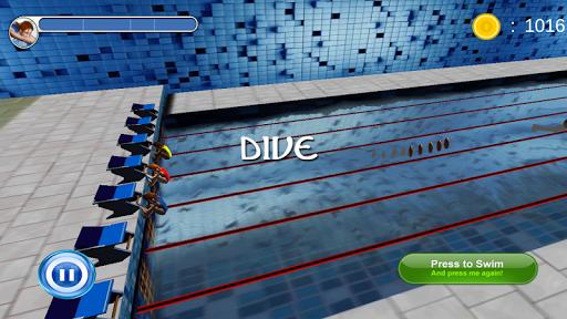 Swimming Race 3D screenshots 6
