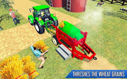 Tractor Thresher Games 3D  Farming Games Apk Download 2
