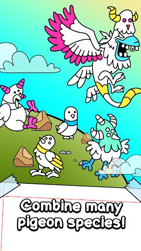 Pigeon Evolution - Merge & Create Mutant Birds  screenshots 3