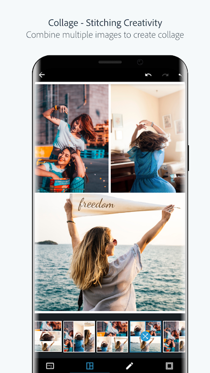 Adobe Photoshop Express:Photo Editor Collage Maker poster 1