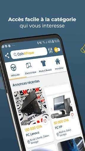 CoinAfrique Annonces - Achu00e8te facile, vends rapide modavailable screenshots 4