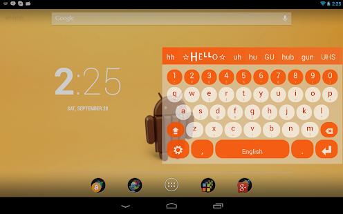 Multiling O Keyboard + emoji screenshots 23