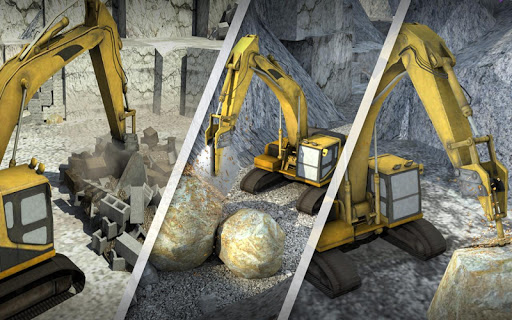 Hill Excavator Mining Truck Construction Simulator screenshots 8